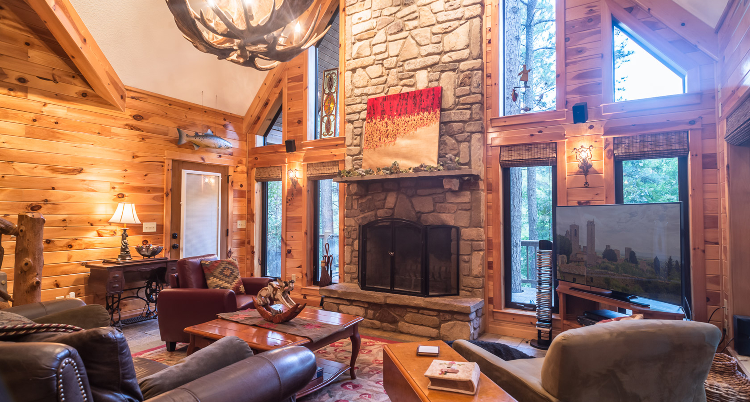 fork river lone ranch in at bighorn lonemountainranch cabin sits north s creek on cabins the montana pin mountain log
